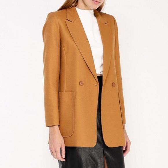 Topshop Jackets & Blazers - TOPSHOP Mustard Jacket